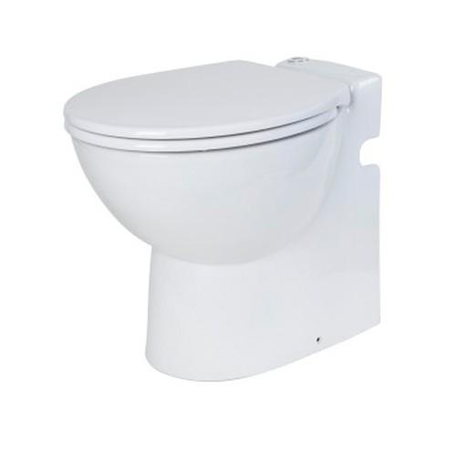 sfa lomac gestolette 1010 keramik stand wc toilette mit eingebauter hebeanlage ebay. Black Bedroom Furniture Sets. Home Design Ideas