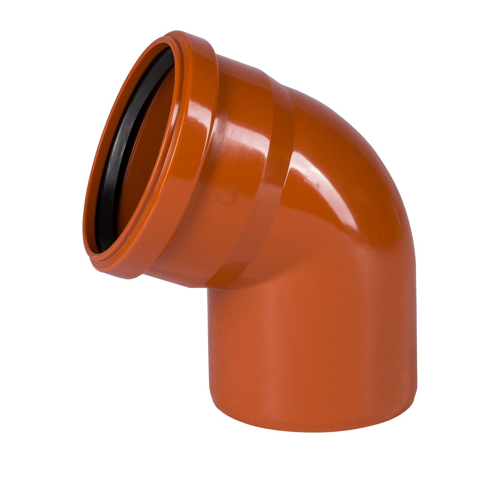 ostendorf kg bogen dn110 67 kgb rohr winkel rohrbogen abwasserrohr kanalrohr ebay. Black Bedroom Furniture Sets. Home Design Ideas