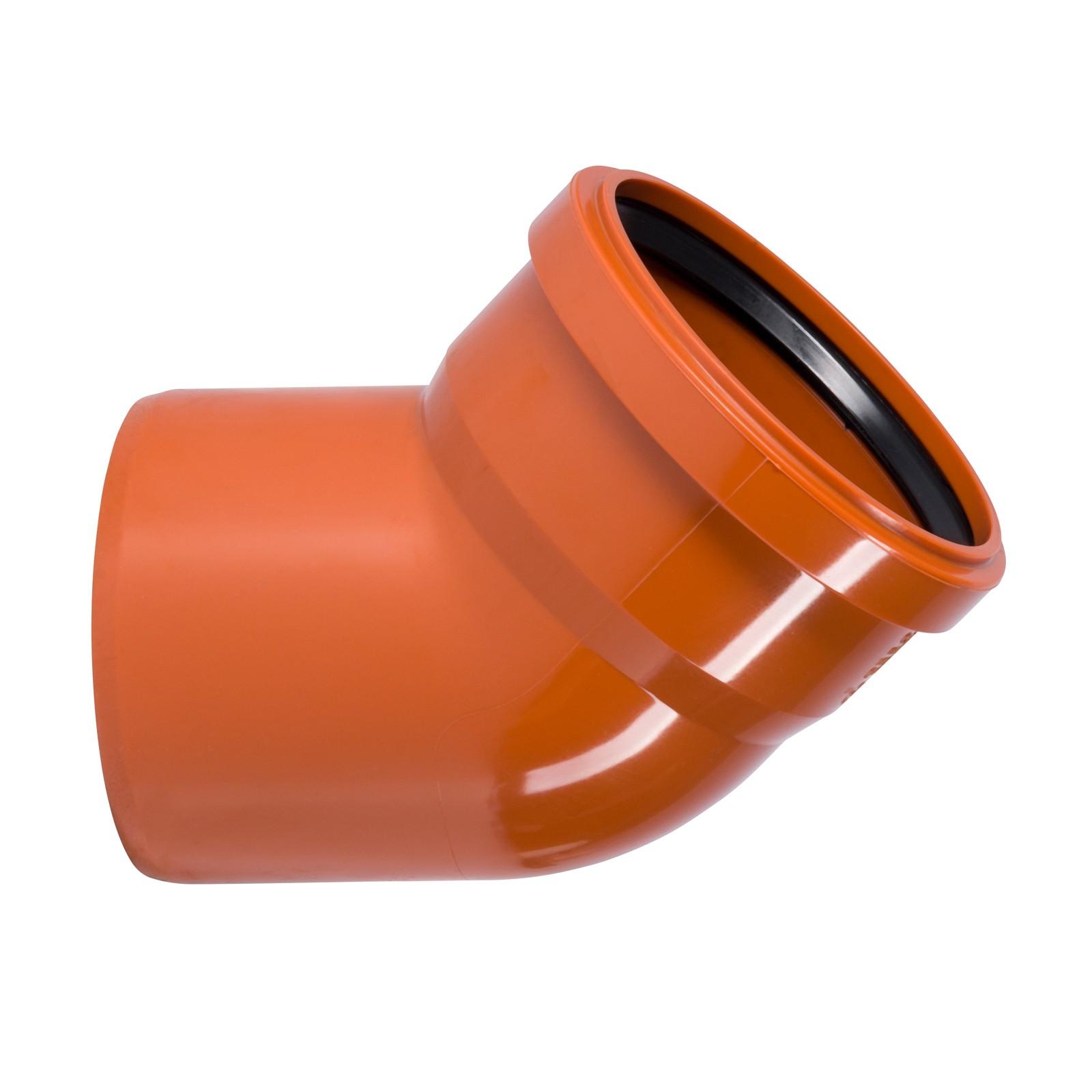 ostendorf kg bogen dn160 45 kgb rohr winkel rohrbogen abwasserrohr kanalrohr ebay. Black Bedroom Furniture Sets. Home Design Ideas