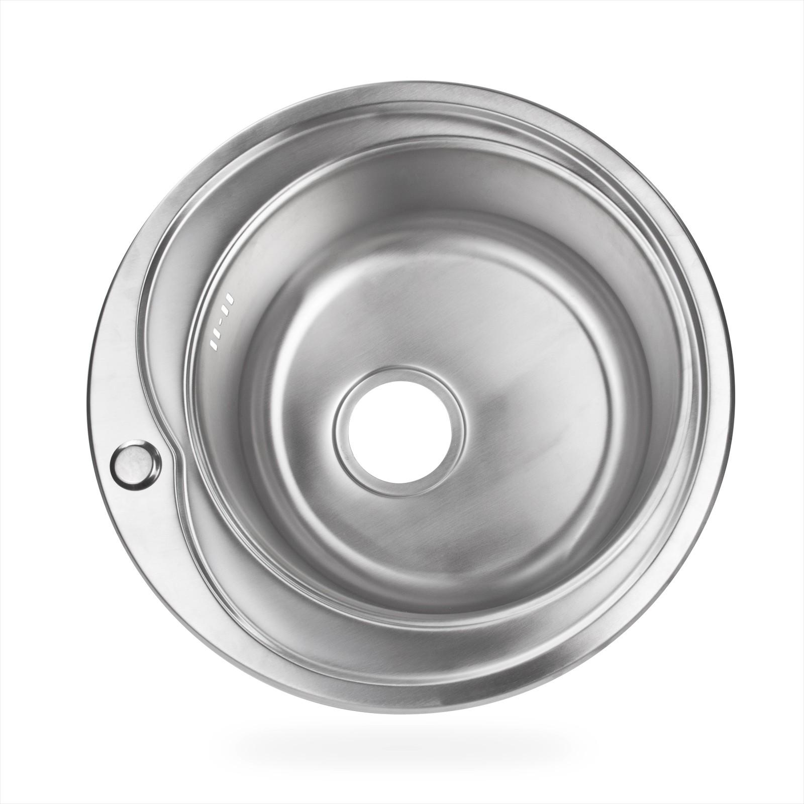 Edelstahl Einbauspüle Ronda2 Waschbecken Spüle Küchenspüle