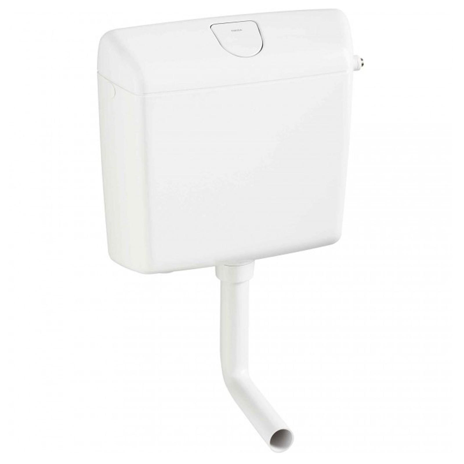 wisa 1070 wc sp lkasten aufputz toilette sp lung 6 9 l. Black Bedroom Furniture Sets. Home Design Ideas
