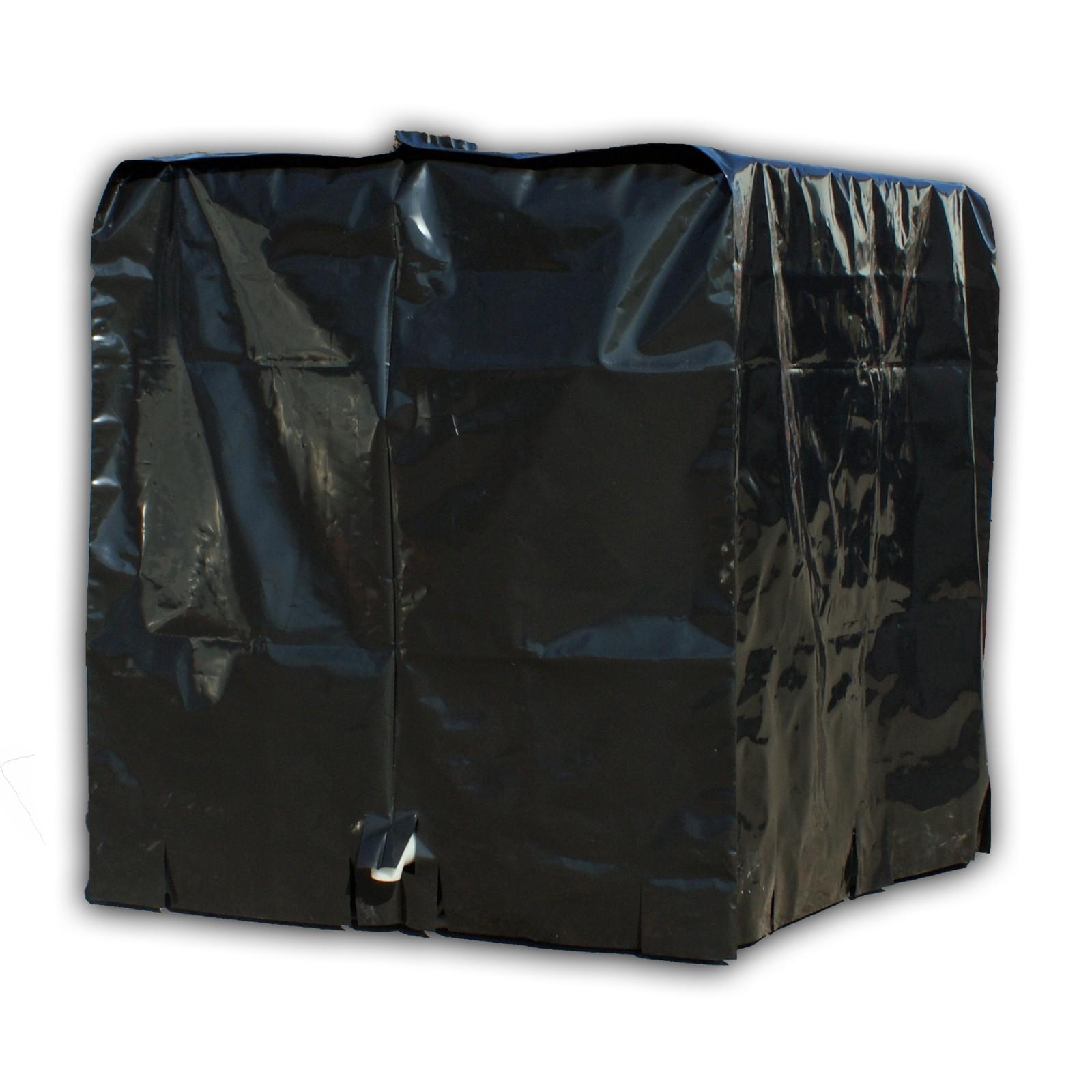 ibc abdeckplane schutz h lle plane haube folie regen wasser tank 1000l ebay. Black Bedroom Furniture Sets. Home Design Ideas