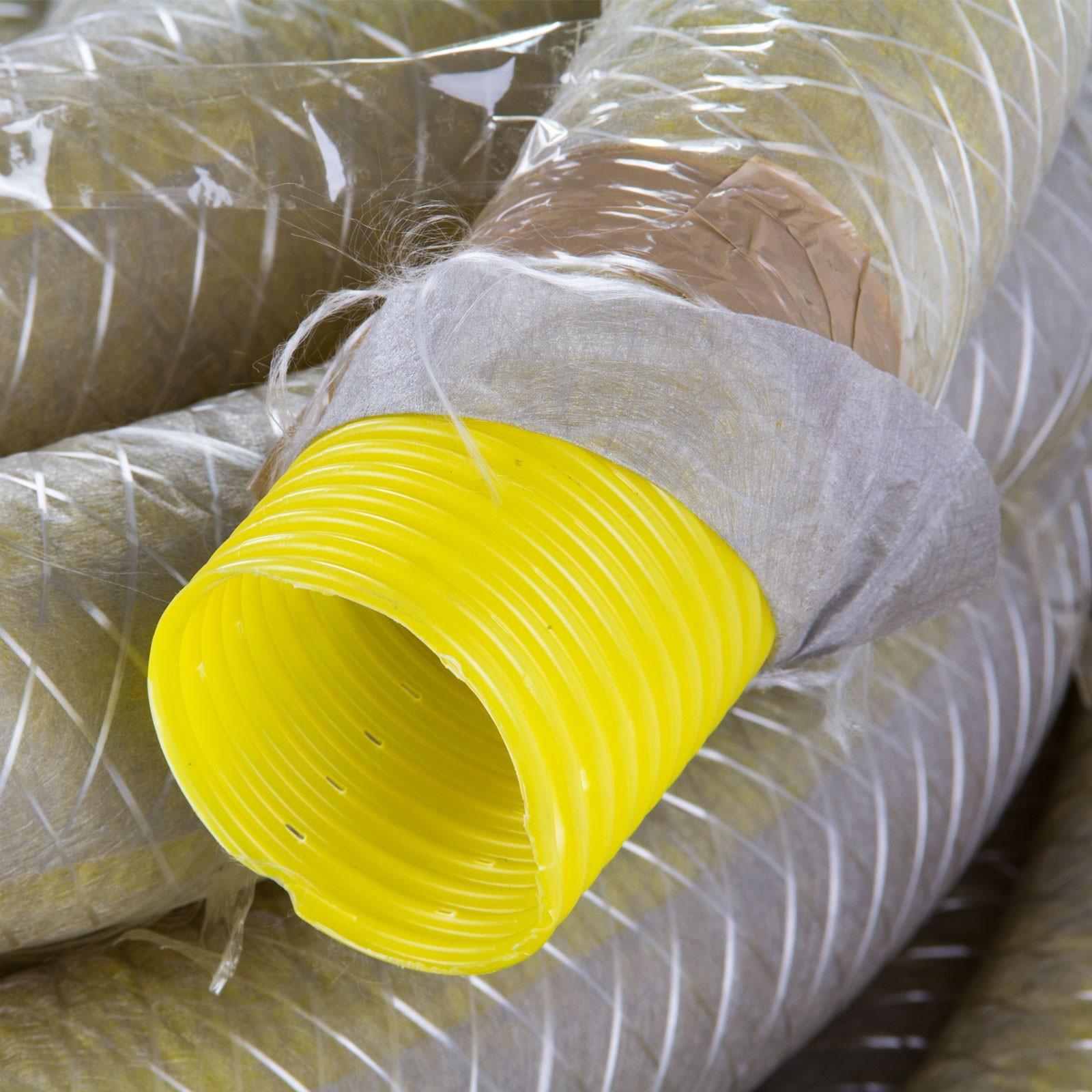 drainagerohr drainageschlauch dn80 50m mit vlies filter. Black Bedroom Furniture Sets. Home Design Ideas