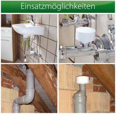 durgo belüftungsventil für abwasserleitungen dn 110