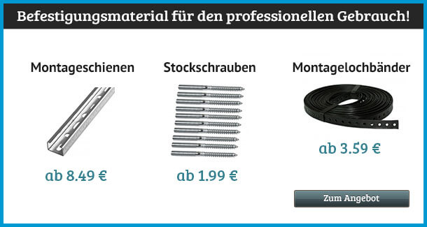 Angebot: Befestigungsmaterial
