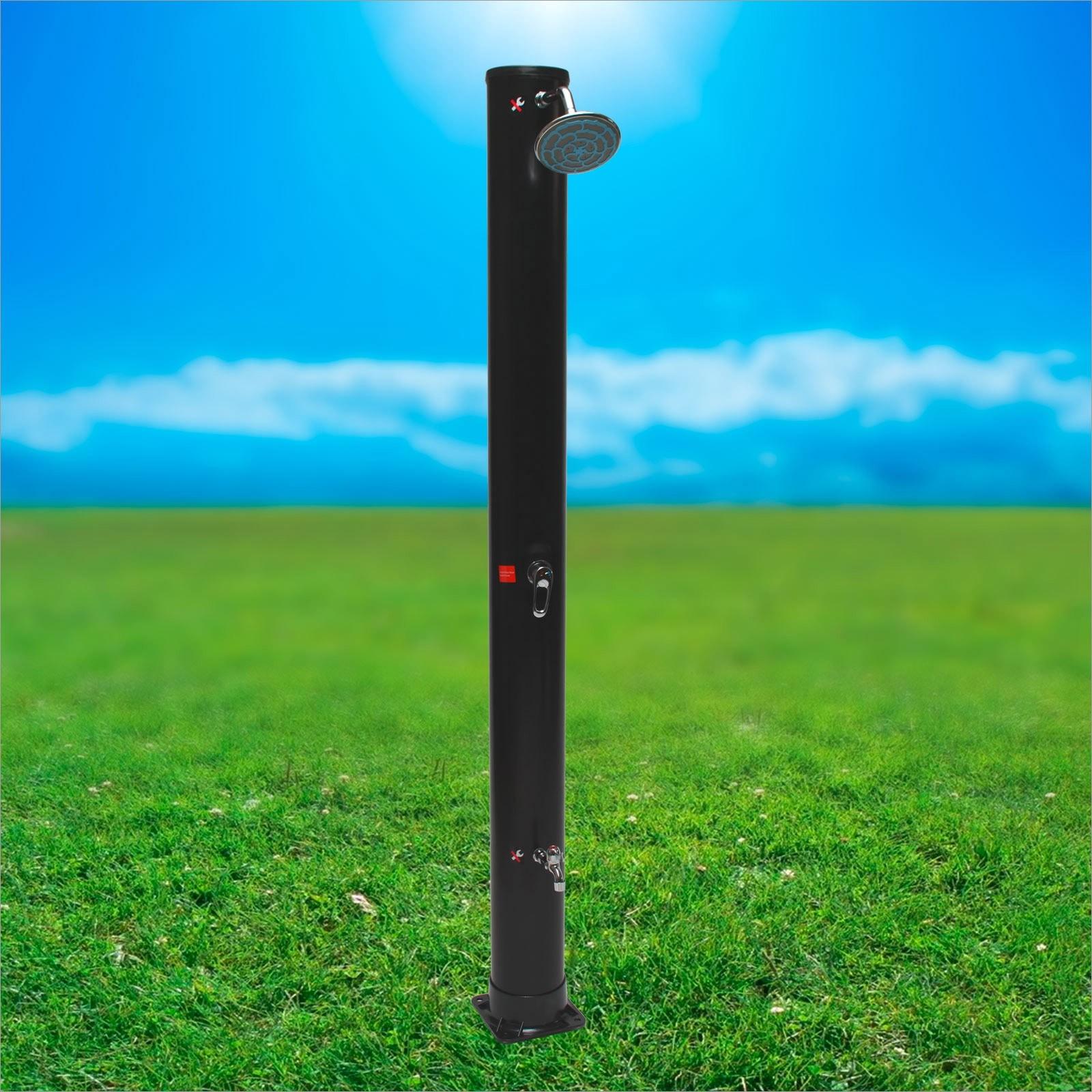 Outdoor Dusche Solar : Solardusche 40 L Gartendusche Alu Dusche Solar Garten Outdoor 1497
