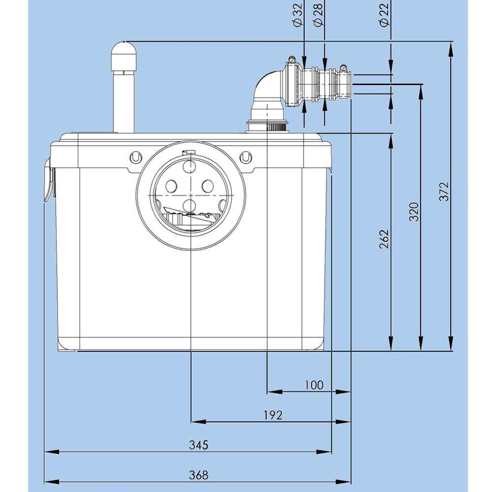 sfa lomac suverain 500 a f kalienhebeanlage wc hebeanlage hecksler hebeanlagen ebay. Black Bedroom Furniture Sets. Home Design Ideas