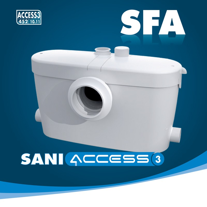 Hebeanlage Dusche Wc : SaniAccess 3 Hebeanlage Abwasserpumpe WC Dusche Waschbecken Bad Urinal