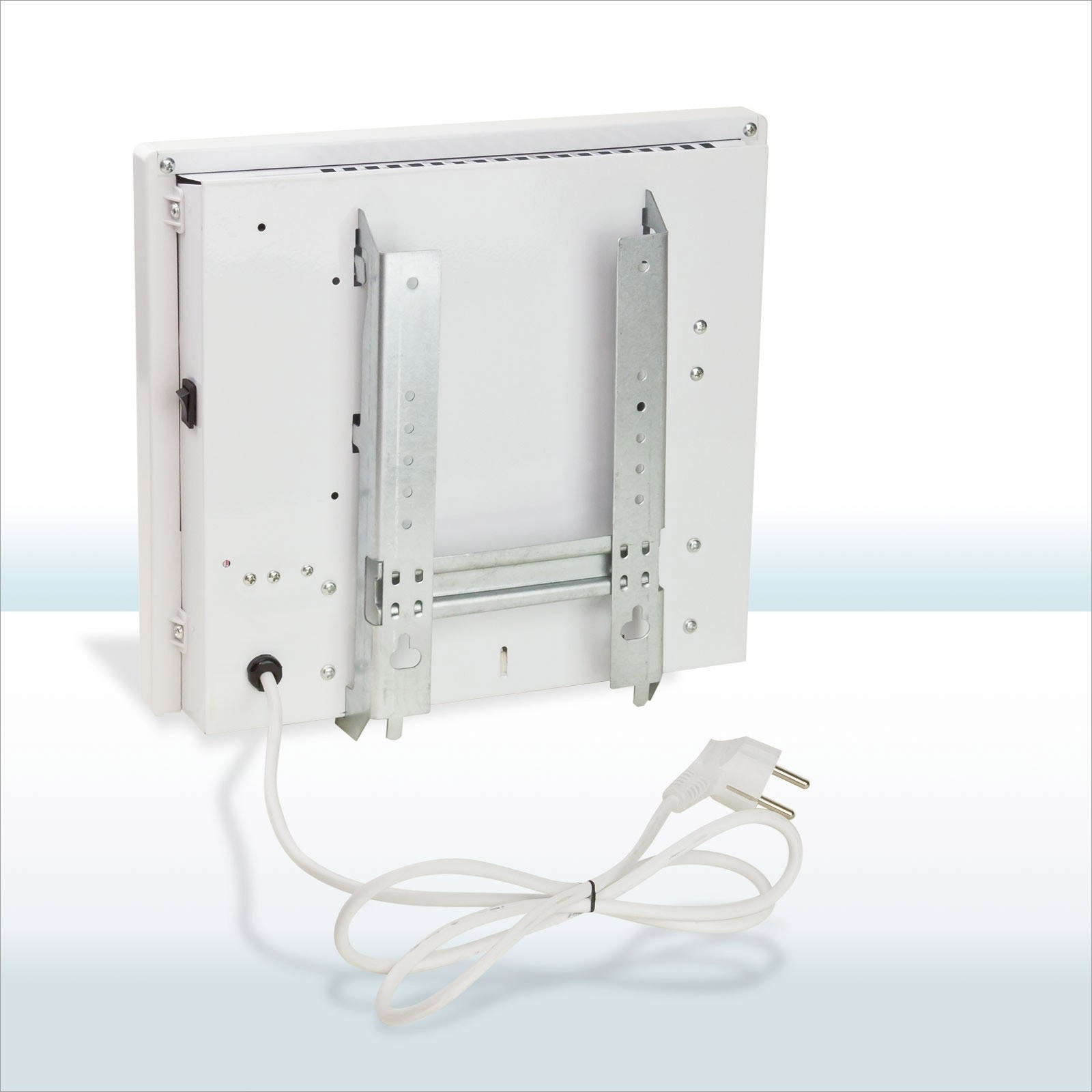 elektro flach heizk rper frost w chter 400w wand paneel heizer heizung konvektor ebay. Black Bedroom Furniture Sets. Home Design Ideas