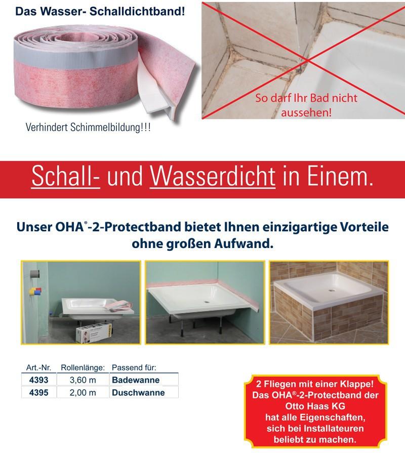 2m oha 2 protectband fugendichtband duschwanne. Black Bedroom Furniture Sets. Home Design Ideas