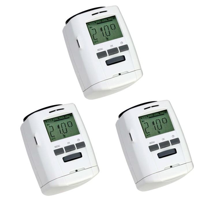 programmierbares heizk rper thermostat energiesparregler. Black Bedroom Furniture Sets. Home Design Ideas