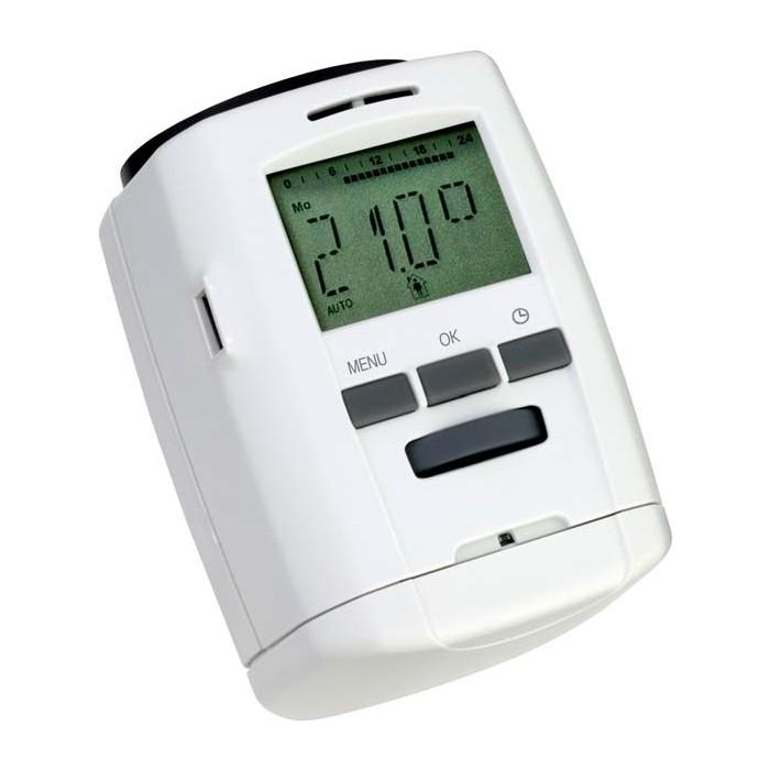 programmierbares heizk rper thermostat energiesparregler f r heizk rper ebay. Black Bedroom Furniture Sets. Home Design Ideas