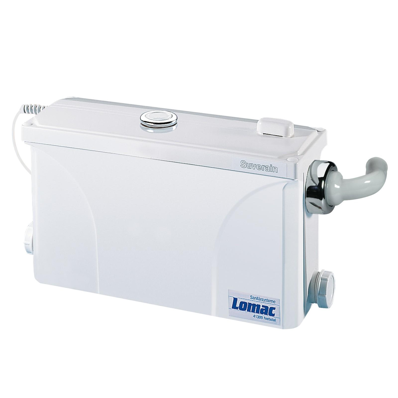 lomac suverain 30 ffa a waschbecken hebeanlage abwasser schmutzwasser pumpe ebay. Black Bedroom Furniture Sets. Home Design Ideas