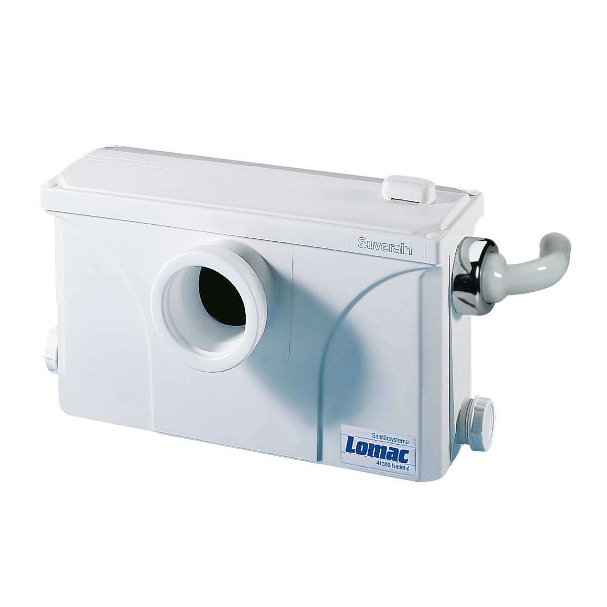 Hebeanlage Dusche Wc : Bild Lomac Suverain 3000-A WC Hebeanlage mit Schneidwerk
