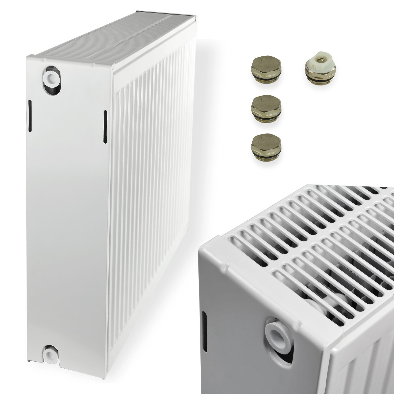 stabilo sanitaer heizk rper typ33 600x1000 mm ventilheizk rper kompaktheizk rper ebay. Black Bedroom Furniture Sets. Home Design Ideas