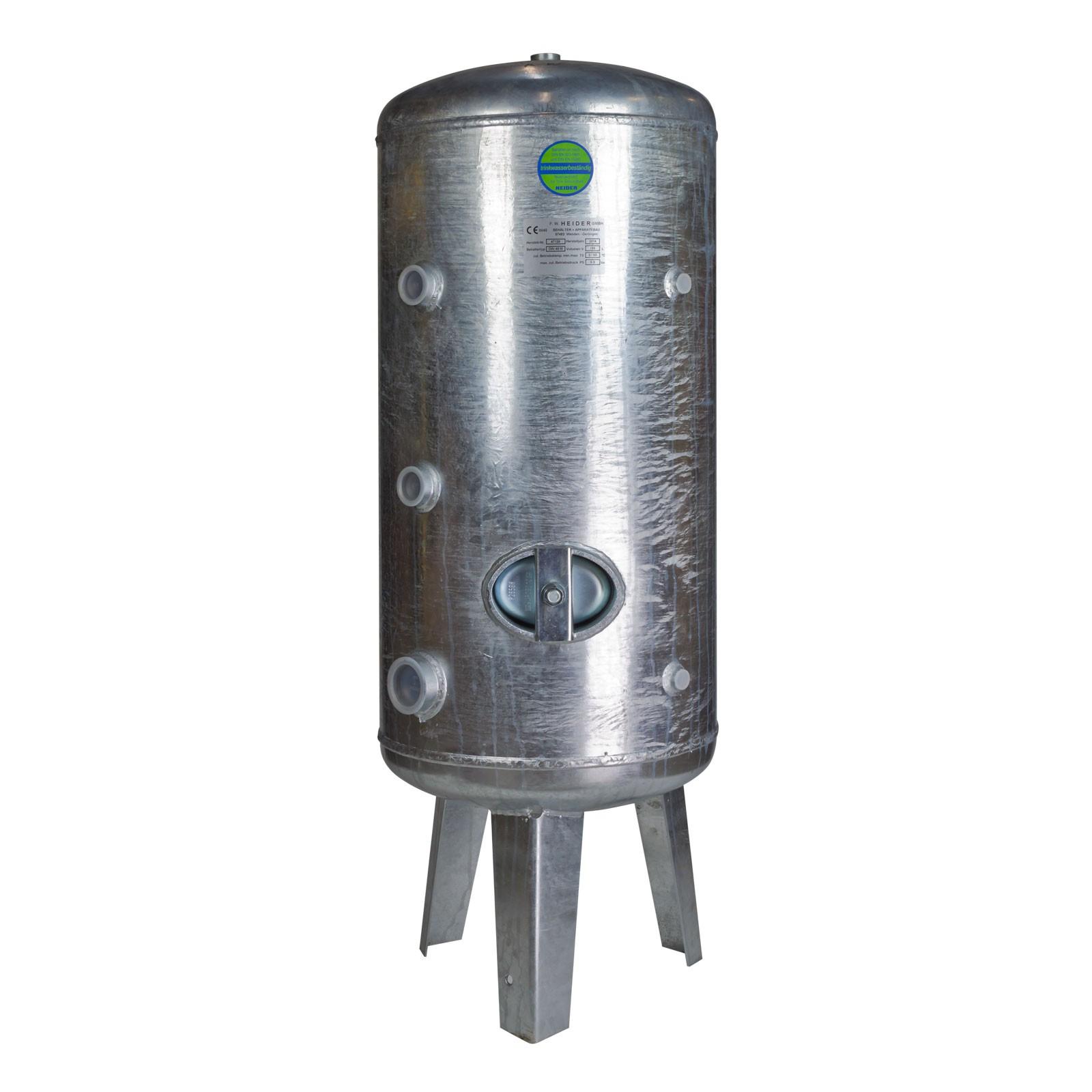 Heider Wasserdruckkessel 750L Liter Druckbehälter 6 bar ...