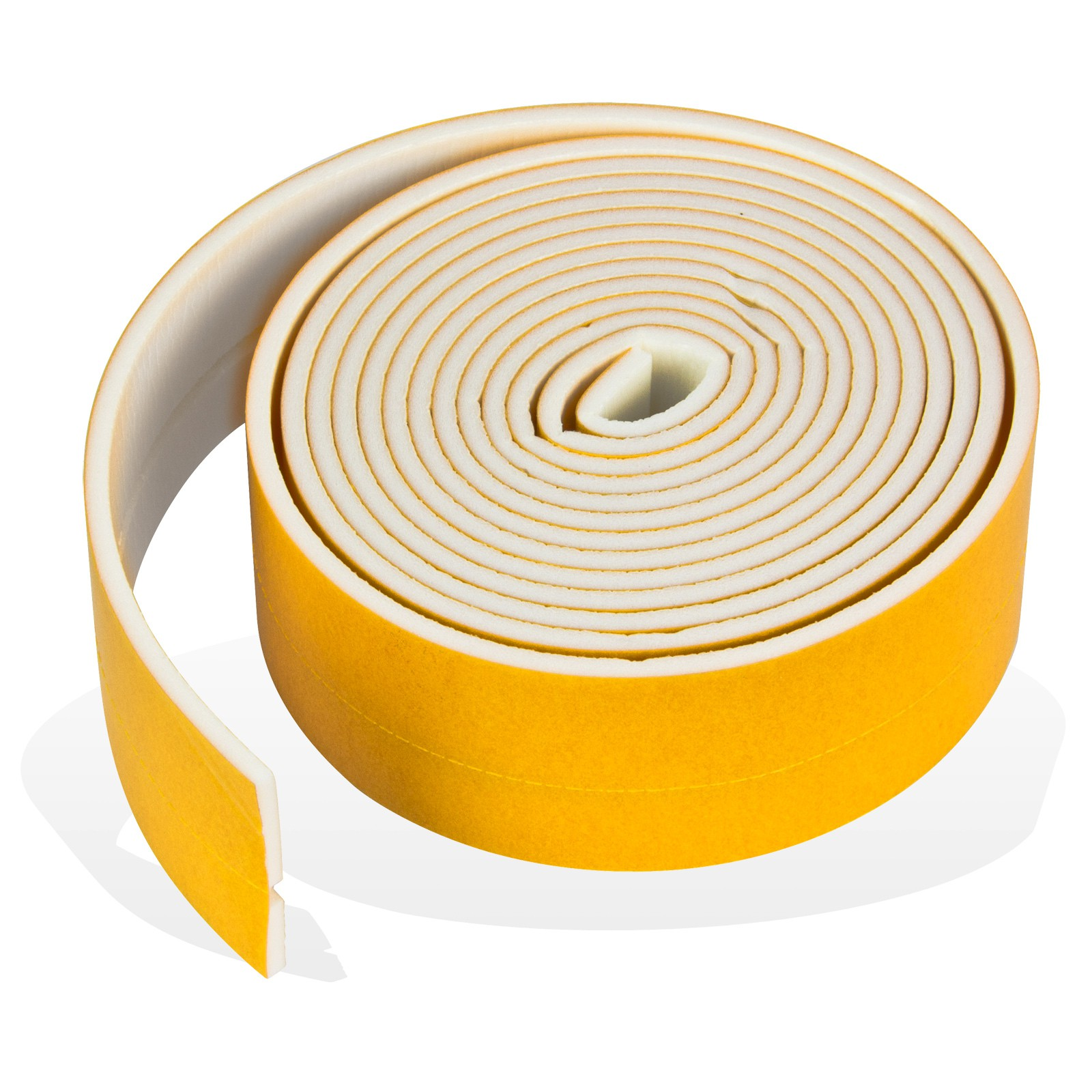 Badewannen Anschlagprofil / Fugendichtband / Fugenband 3,3m