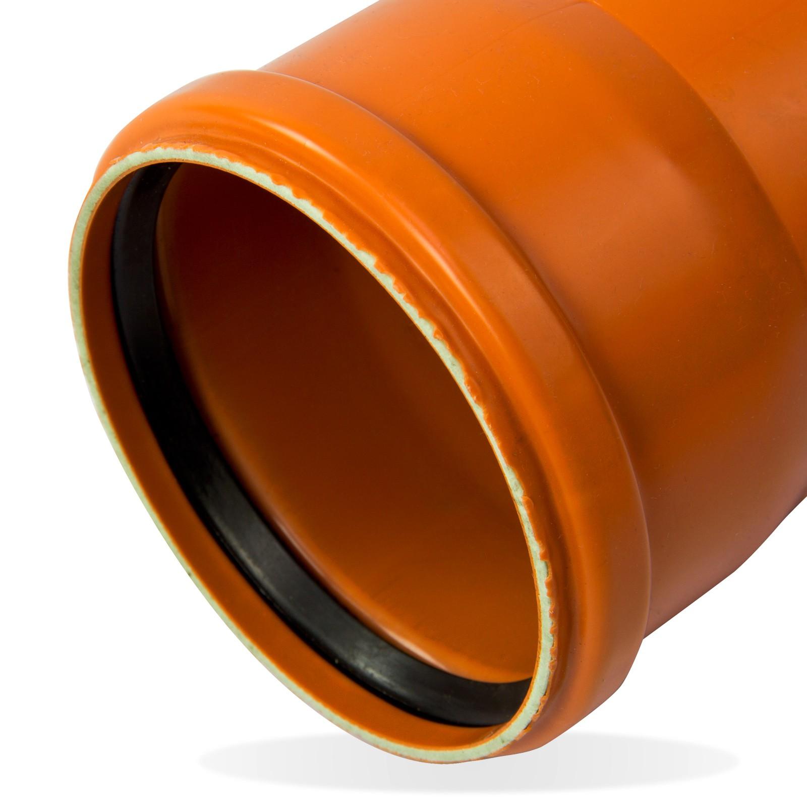kg rohr dn mm  abwasserrohr kanalrohr orange