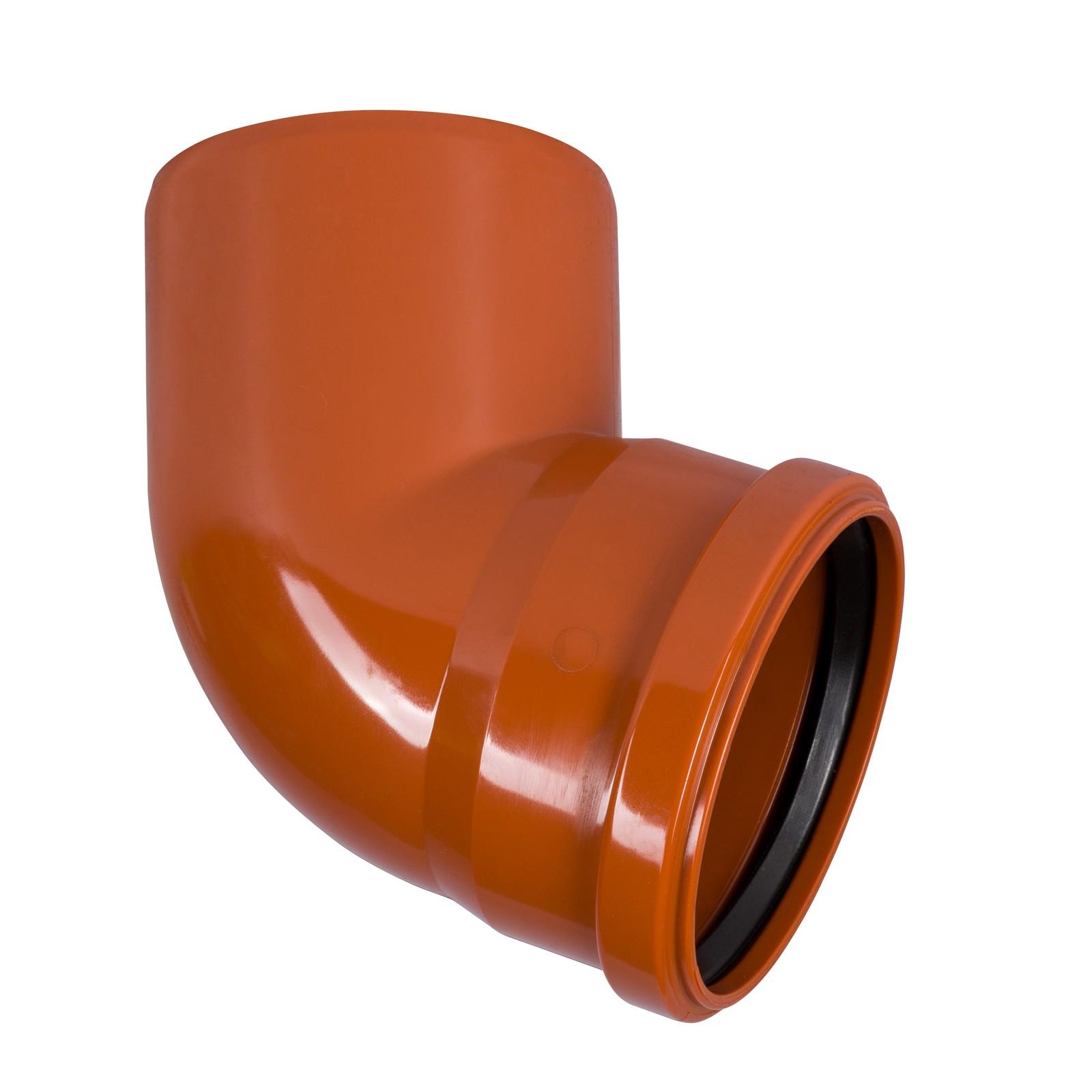 kg bogen dn200 67 grad rohr abwasserrohr kanalrohr orange. Black Bedroom Furniture Sets. Home Design Ideas