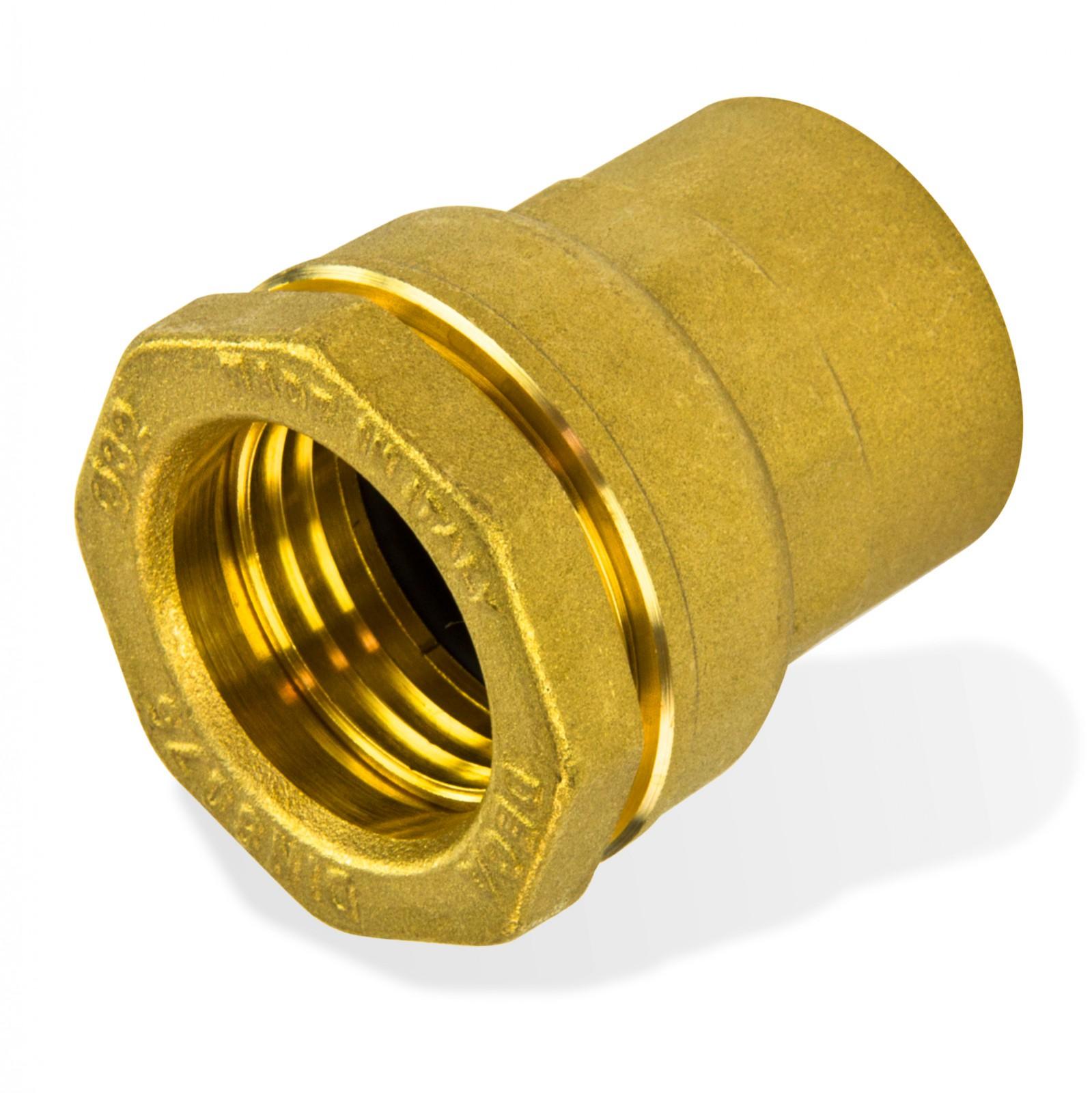 Messing Verschraubung 63 mm x 2 Zoll Innengewinde PE-Rohr