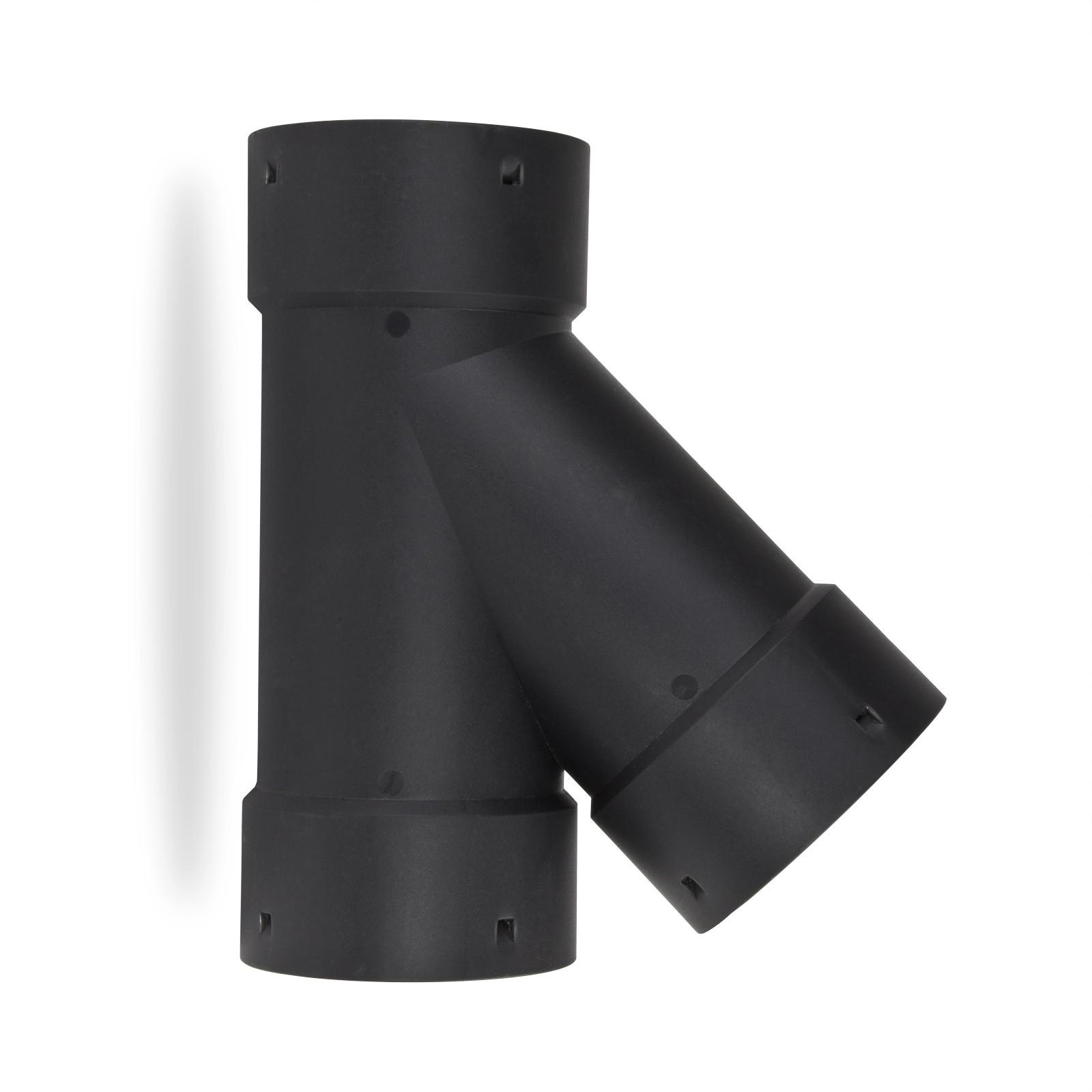 drainagerohr abzweig 45 grad dn100 drainageschlauch drainage. Black Bedroom Furniture Sets. Home Design Ideas