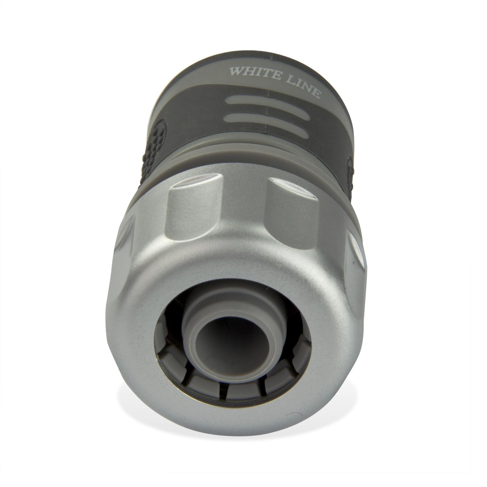 pvc schlauchst ck 1 2 13mm schlauch comfort wasserstop steckkupplung. Black Bedroom Furniture Sets. Home Design Ideas