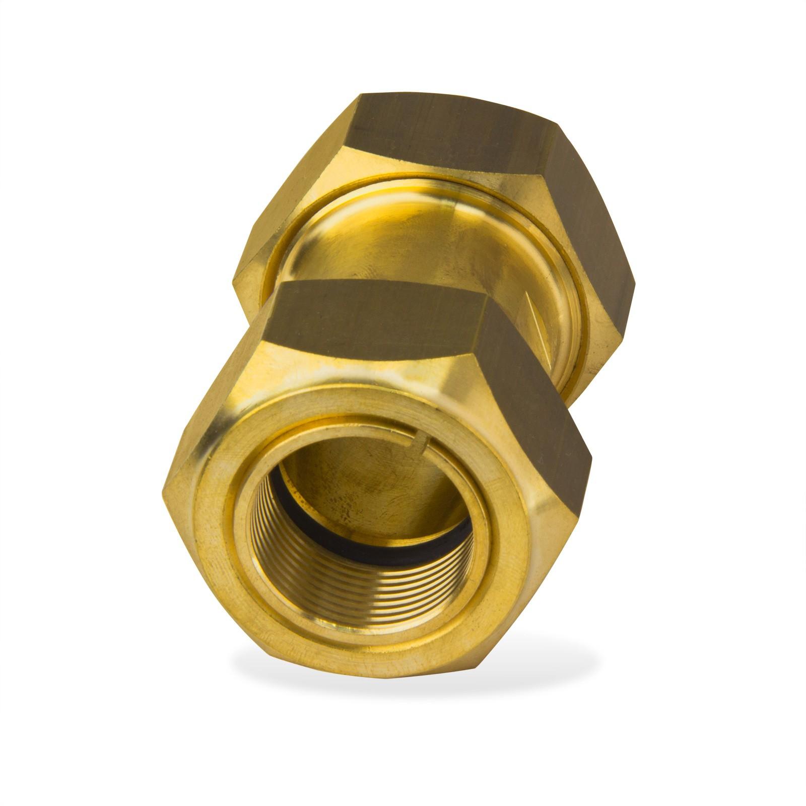 Gebo messing klemmverbinder kupplung 54x54mm verschraubung - Kupferrohr kaufen ...