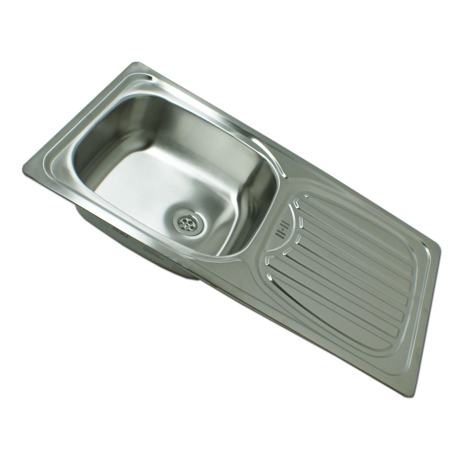 Edelstahl waschbecken spule einbauspule spulbecken for Einbauspüle