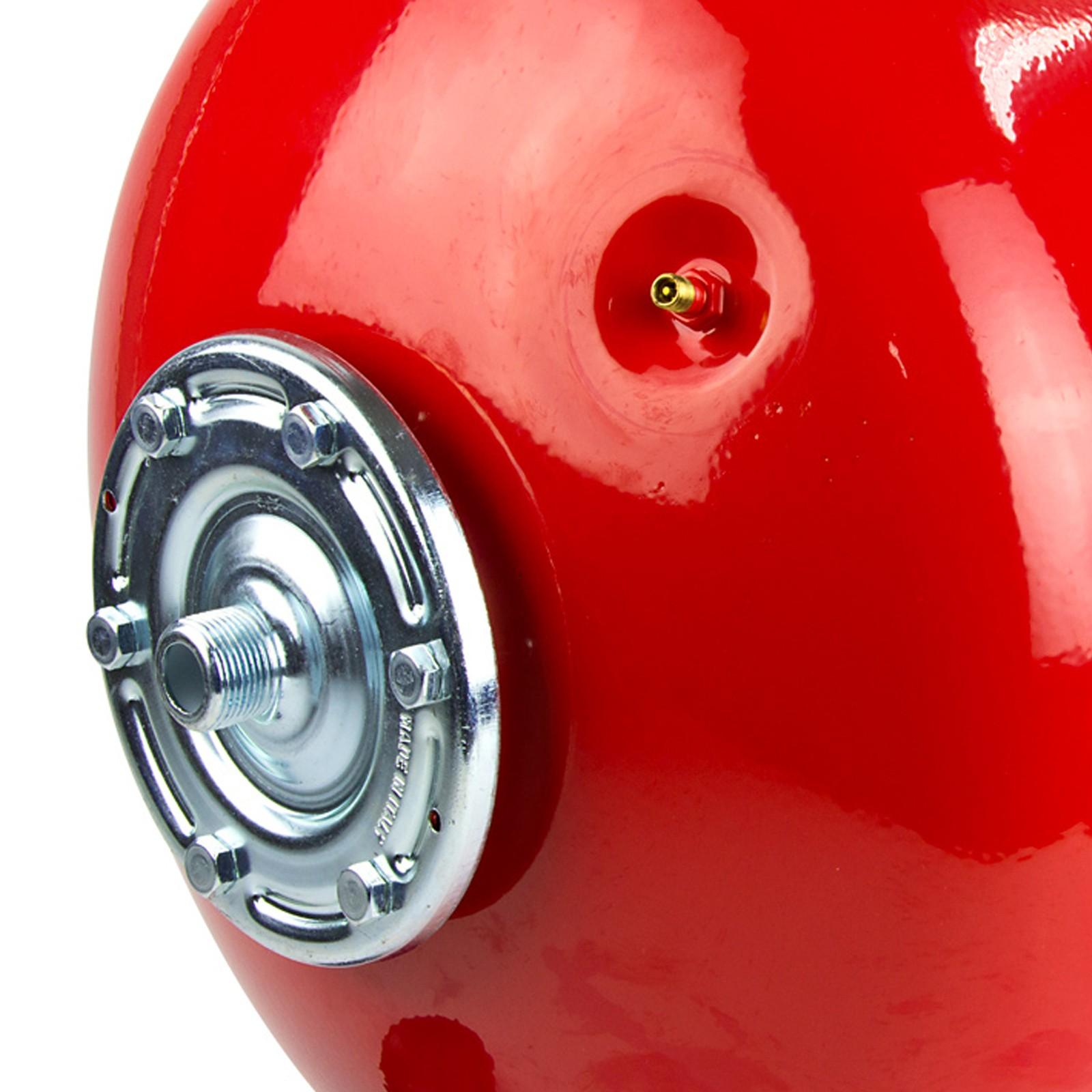 ausdehnungsgef 50l ausgleichsbeh lter rot stehend heizung. Black Bedroom Furniture Sets. Home Design Ideas