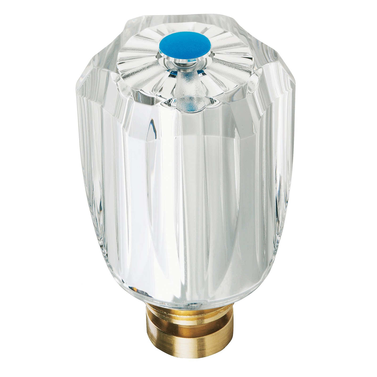 hahnoberteil 3 8 zoll blau ventiloberteil armatur wasserhahn oberteil kaltwasser ebay. Black Bedroom Furniture Sets. Home Design Ideas