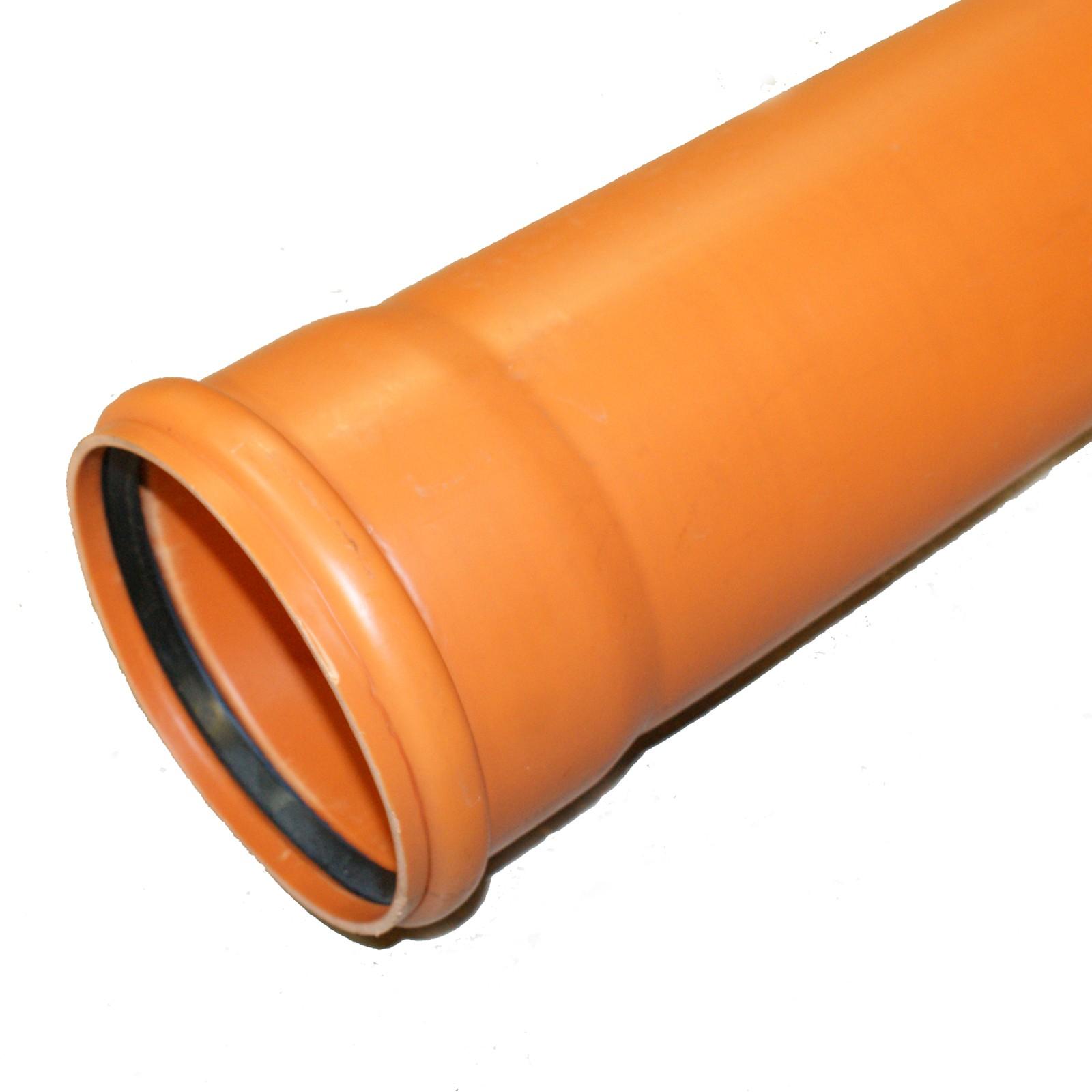 kg rohr dn110 500mm abwasserrohr 100mm kanalrohr orange. Black Bedroom Furniture Sets. Home Design Ideas
