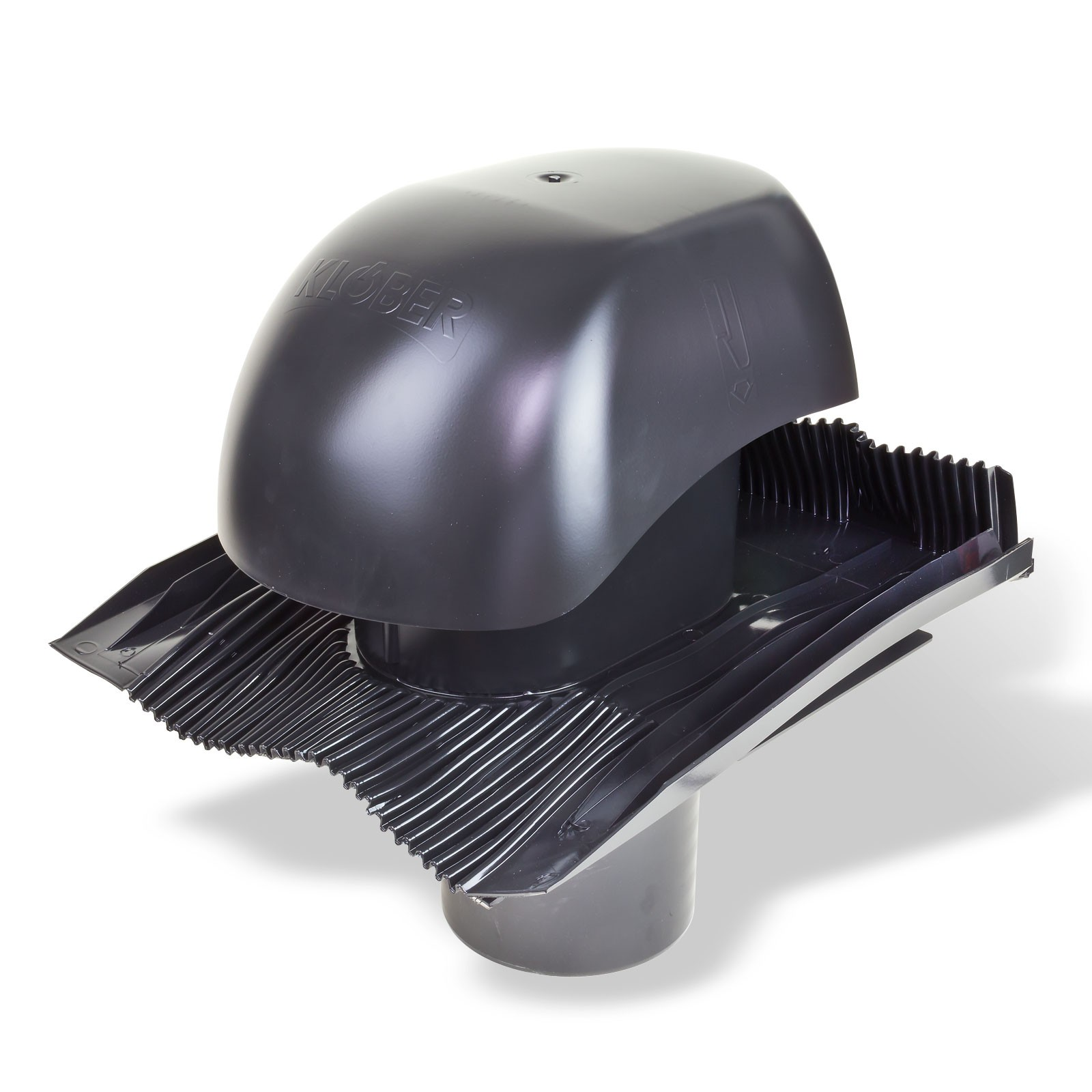 Klöber Venduct Lüfter-Set DN 150 schwarz Universal Dunstabzug