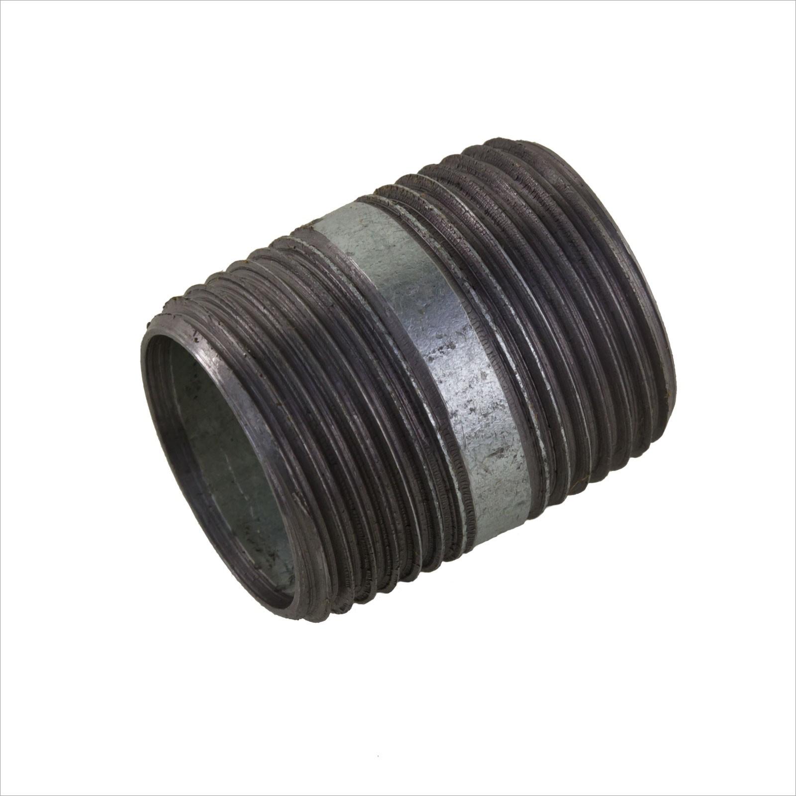 Rohrdoppelnippel 1/2 Zoll 21,3 x 60 mm DN15 Rohrnippel ...