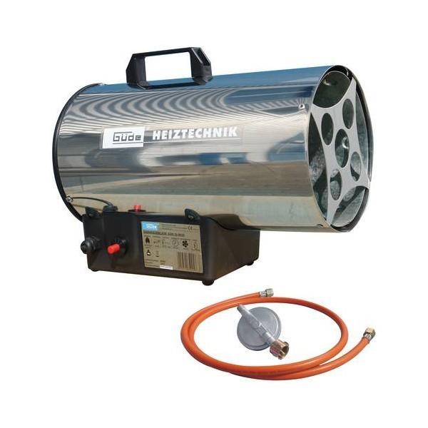 Edelstahl Gasheizer GGH10 INOX Gas Heizkanone Heizgebläse